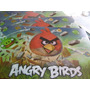 Angry Birds Tapete De Mesa Antiderrame Especial Para Niños.