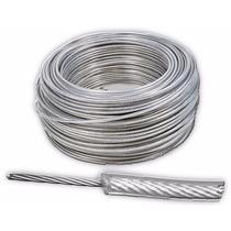 Cable De Acero Con Pvc 7x19 3/16-1/4 Y 152 M