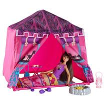 Barbie Hermanas Carpa Safari En Set - Rosado