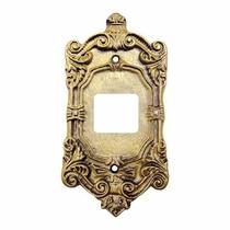 Placa Espelho 4x2 Modelo Colonial Decorativo 2 Interruptores