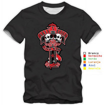 Camisetas Guns N Roses Slash Camisa Modelos Caveira