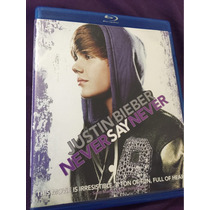 Justin Bieber Never Say Never Bluray Perfecto Estado