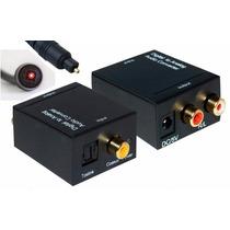 Adaptador Convertidor De Audio Digital Coaxial A Rca Estéreo