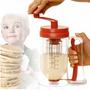 ¡ Batidor Dosificador D Pancakes Mezclador Manual Muffins !!