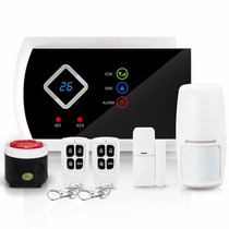 Kit Sistema De Alarma Inalámbrica Gsm Casa Oficina Android