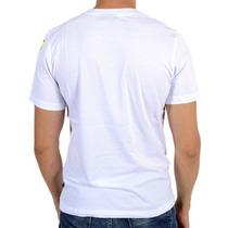 Camiseta Valentino Rossi Vr46 Pop Art Cartoon Branco
