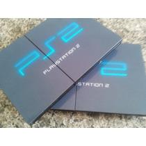 Playstation 2 Slim Ps2 Controle Memory Card Jogos - Loja
