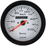 Velocímetro C/ Hodômetro 100mm Wplus Br Fusca Buggy + Led