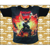 Camisetas Bandas - Rock Bandalheira Subl. Manowar 2717