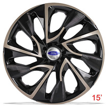 Calota Aro 15 Gold Ds4 Ford Ka Fiesta Focus Escort Ecosport