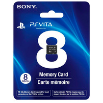 ! Memoria 8gb Sony Playstation Vita Ps Vita En Wholegames !