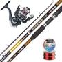 Equipo Pesca Waterdog Caña Colville 2.40 + Reel Altea 4005