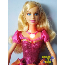 Boneca Barbie Liana Castelo De Diamantes Mattel