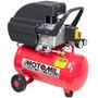Compressor De Ar Portátil 7,4 Pés 24 Litros 110 220v Oferta