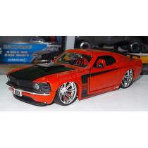 1:24 Ford Mustang Boss 429 1970 Rojo Jada Shelby C Caja