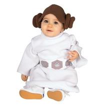 Disfraz Princesa Leia Bebe Disney Traje Lia Star Wars