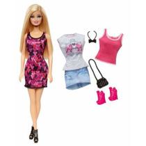 Barbie Fashonista Con Dos Cambios