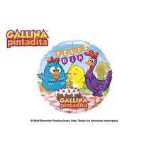 Globo Oferta!! Gallina Pintadita Original 46cm, Envío Barato