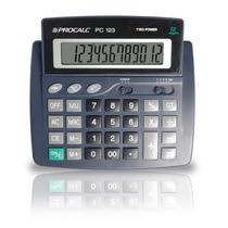 Calculadora 12 Dígitos Grandes Procalc Pc 123
