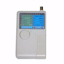 Testador P/ Cabos De Rede Utp Rj45 Rj11 Catv Cable Modem Usb