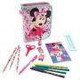 Cartuchera De Minnie Mouse Completa De Utiles Disney Store!!