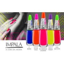 Coleção Atitude Neon Impala 5 Esmalte