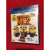 Tercera Dimension Minions Blu Ray Mi Villano Favorito 2 3d
