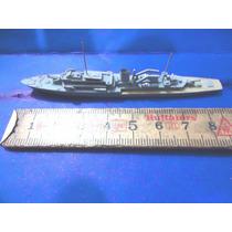 Marinha Navio De Guerra Made W. Germany Metal Anos 50 - 8cm