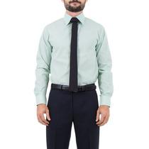 Camisa Social Slim Com Caseado Contrastante - Jcanedo