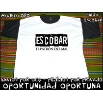 Remeras Pablo Escobar