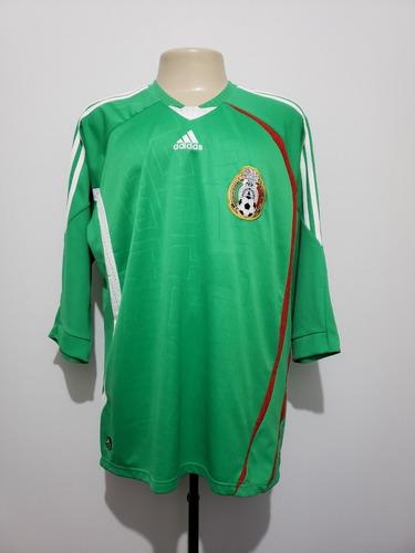 6d1798b4cd086 Camisa Futebol Oficial Seleção México 2008 Home adidas Gg - R  169 ...