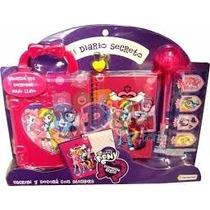 Diario Secreto Con Candado My Little Pony - Mundo Team