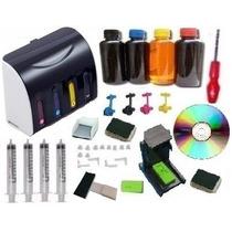 Bulk Ink Hp Elegance Luxo D110 1510 2516 3516 F4480 +tinta
