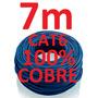 Cabo Rede Cat6 100% Cobre Azul 7m Net Lan Pronto Usar Uso