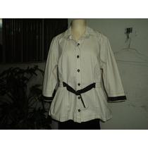 Camisa Social Popeline Com Elastano 46 - Usada