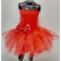 Vestido Bautizo, Pajecita Novia Para Niña Talla 4 Y 5