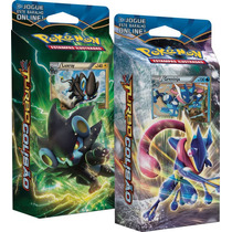 2 Decks Pokémon Xy Turbo Colisão Luxray E Greninja