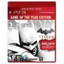 ¡¡ Batman Arkham City Goty Edition Para Ps3 En Wholegames !!