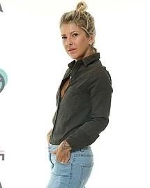 fae08904febe5 Camisa Lady Rock Verde Militar - R  100