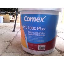 Pintura Comex Pro-1000 Plus Blanco 19lts.