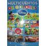 Libro: Multicuentos De Colores Disney Azul - Barcel Baires