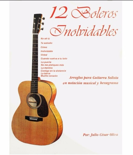 Partituras guitarra clasica y fingerstyle boleros 90 for Partituras guitarra clasica