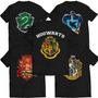 Kit Camiseta Harry Potter Casas Hogwarts Melhores Para Fãn!!