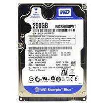 Disco Duro Western Digital 250 Wd2500bpvt Sata 300 5400 2.5