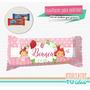 Frutillitas Bebe - Envoltorio Chocolatín Para Imprimir