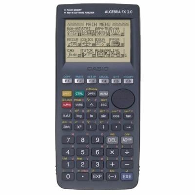 9e30c5784eb Calculadora Gráfica Casio Algebra Fx 2.0 Plus 1500 Funções - R  499 ...