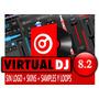 Virtual Dj 8.2 Sin Logo + Pack Skins + Extras 2016 Tenelo Ya