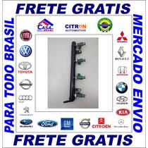 Flauta+ Bico Injetor Gm Astra/vectra/onix 1.4 Orig 24578820