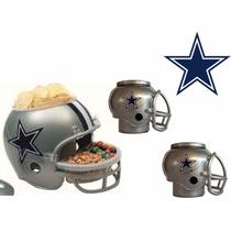 Casco Nfl Dallas Cowboys Botanero Y 2cerveceros Envío Gratis