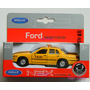 Taxi Ford Crown Victoria Usa Escala 1:38 Welly Coleccion